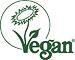 Dieser Aufleger ist vegan.