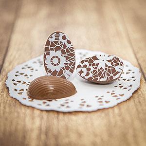 Schokoladeneier zu Ostern