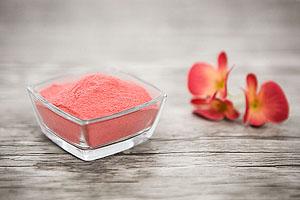 Erdbeer-Fruchtpulver für Pralinen