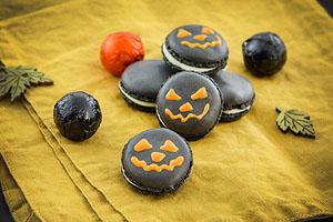 Macarons zu Halloween selber machen