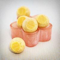 Pfirsich-Pralinen selber machen, mit Pfirsich-Melba