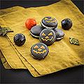 Halloween-Macarons selbermachen